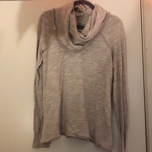 Free People long sleeve cowl neck knit